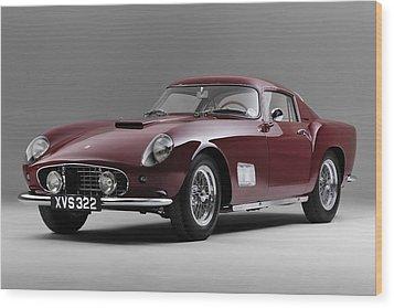 1956 Ferrari Gt 250 Tour De France Wood Print