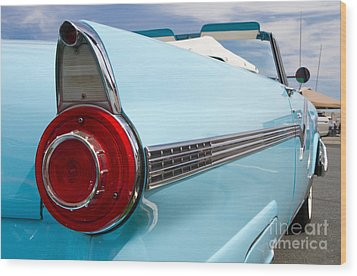 1956 Ford Fairlane Sunliner Wood Print