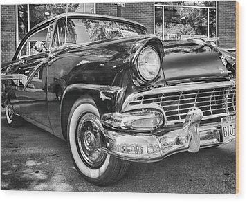 1956 Ford Fairlane Wood Print by Theresa Tahara