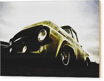 1957 Ford F100 Pickup Wood Print by motography aka Phil Clark