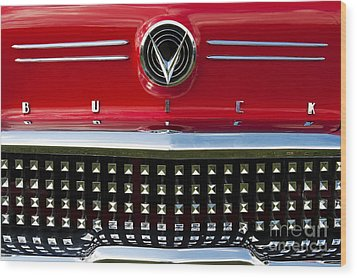 1958 Buick Special Car Wood Print by Tim Gainey