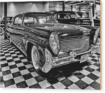 1958 Lincoln Continental Mk IIi Wood Print by Michael Gordon
