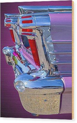 1958 Oldsmobile 98 Wood Print by Brian Stevens