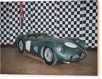 1959 Aston Martin Dbr1 Wood Print by Boris Mordukhayev