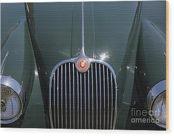 1959 Jaguar Xk150 Dhc 5d23301 Wood Print by Wingsdomain Art and Photography
