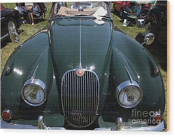 1959 Jaguar Xk150 Dhc 5d23302 Wood Print by Wingsdomain Art and Photography