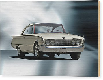 1960 Ford Starliner Wood Print by Dave Koontz