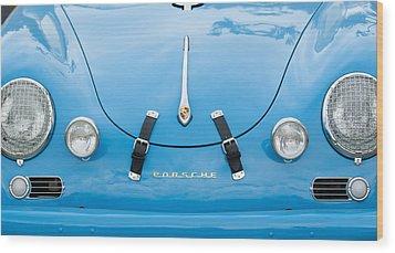 1960 Volkswagen Porsche 356 Carrera Gs Gt Replica  Wood Print by Jill Reger