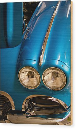 1961 Chevrolet Corvette IIi Wood Print by David Patterson