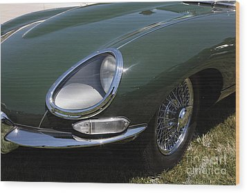 1961 Jaguar Xke Roadster 5d23321 Wood Print by Wingsdomain Art and Photography
