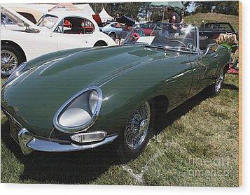 1961 Jaguar Xke Roadster 5d23323 Wood Print by Wingsdomain Art and Photography