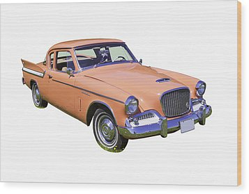 1961 Studebaker Hawk Coupe Wood Print