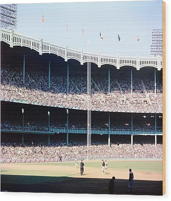 1961 World Series Wood Print by Retro Images Archive