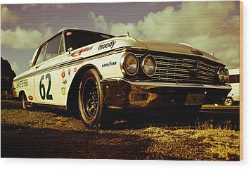 1962 Ford Galaxie 500 Wood Print by Phil 'motography' Clark