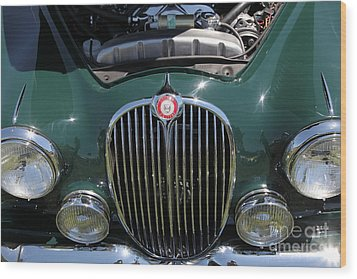 1962 Jaguar Mark II 5d23327 Wood Print by Wingsdomain Art and Photography