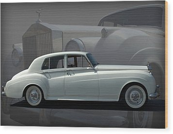 1962 Rolls Royce Silver Cloud Wood Print by Tim McCullough