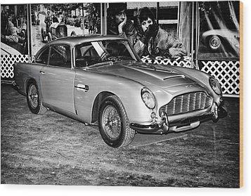 1964 Aston Martin Db5 Wood Print by Boris Mordukhayev