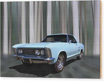 1964 Buick Riviera Wood Print by Keith Hawley