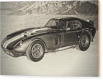 1964 Cobra Daytona Coupe Wood Print by Boris Mordukhayev