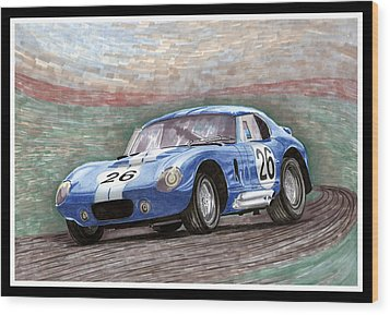 1964 Shelby Daytona Wood Print by Jack Pumphrey