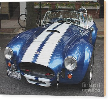1965 Cobra Shelby Wood Print