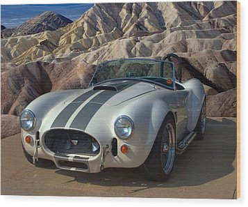 1965 Shelby Cobra Replica 427 Wood Print by Tim McCullough