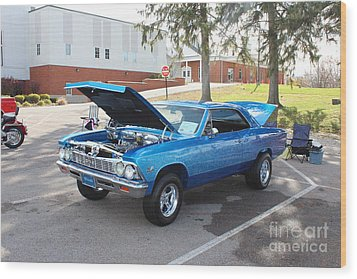 1966 Chevelle Super Sport Wood Print