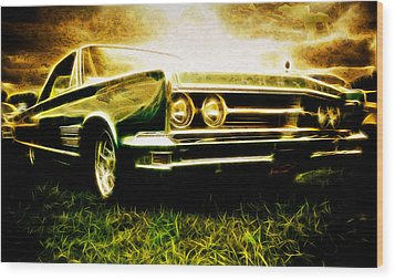 1966 Chrysler 300 Wood Print by Phil 'motography' Clark