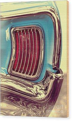 1966 Pontiac Tempest Taillight Wood Print