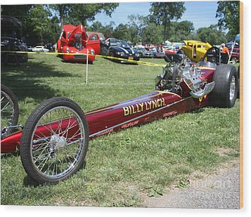 1967 Billy Lynch's Top Fuel Dragster Wood Print
