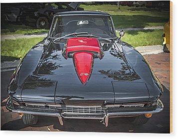 1967 Chevrolet Corvette 427 435 Hp Wood Print
