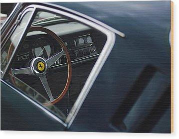 1967 Ferrari 275 Gtb-4 Berlinetta Wood Print by Jill Reger