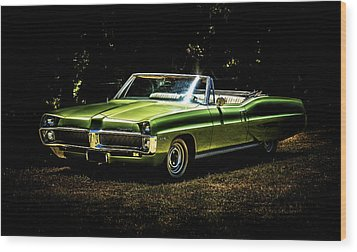 1967 Pontiac Bonneville Wood Print by motography aka Phil Clark