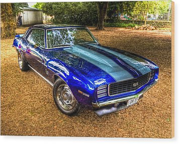 1969 Chevrolet Camaro 396 Wood Print by Phil 'motography' Clark
