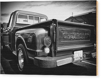 1969 Chevrolet Pickup IIi Wood Print by David Patterson