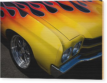 1970 Chevrolet Chevelle Wood Print by David Patterson