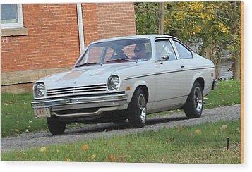 1971 Chevrolet Vega Wood Print