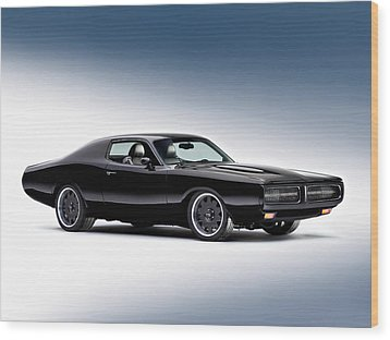 1972 Dodge Charger Wood Print by Gianfranco Weiss