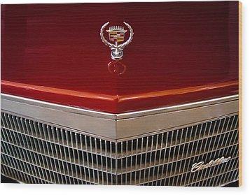 1984 Cadillac Eldorado Biarritz Wood Print by David Patterson