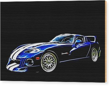 1997 Viper Hennessey Venom 650r 5 Wood Print by Davandra Cribbie