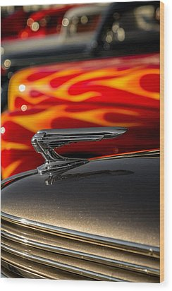 1939 Graham Coupe Hood Ornament Wood Print
