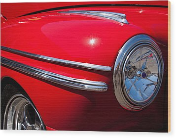 1946 Ford Mercury Eight Wood Print by David Patterson