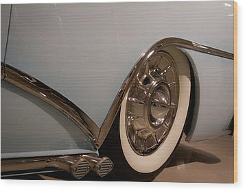 1954 Buick Century Convertible Wood Print by David Patterson