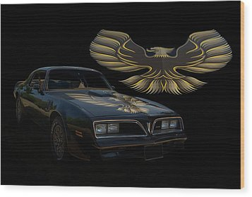 1978 Pontiac Trans Am  Wood Print by Tim McCullough