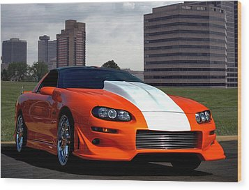 2002 Camaro Z28 Wood Print by Tim McCullough