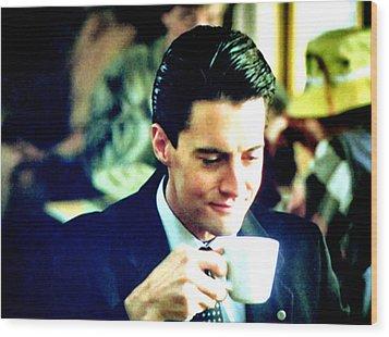 A Damn Fine Cup Of Coffee Wood Print