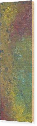 Abstract 3 Wood Print by Corina Bishop