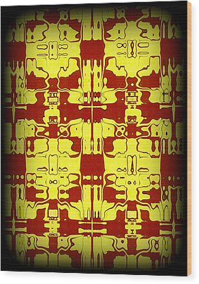 Abstract Series 5 Wood Print by J D Owen