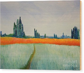 After Monet Wood Print by Bill OConnor