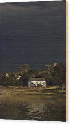 After The Storm Wood Print by Keith Woodbury